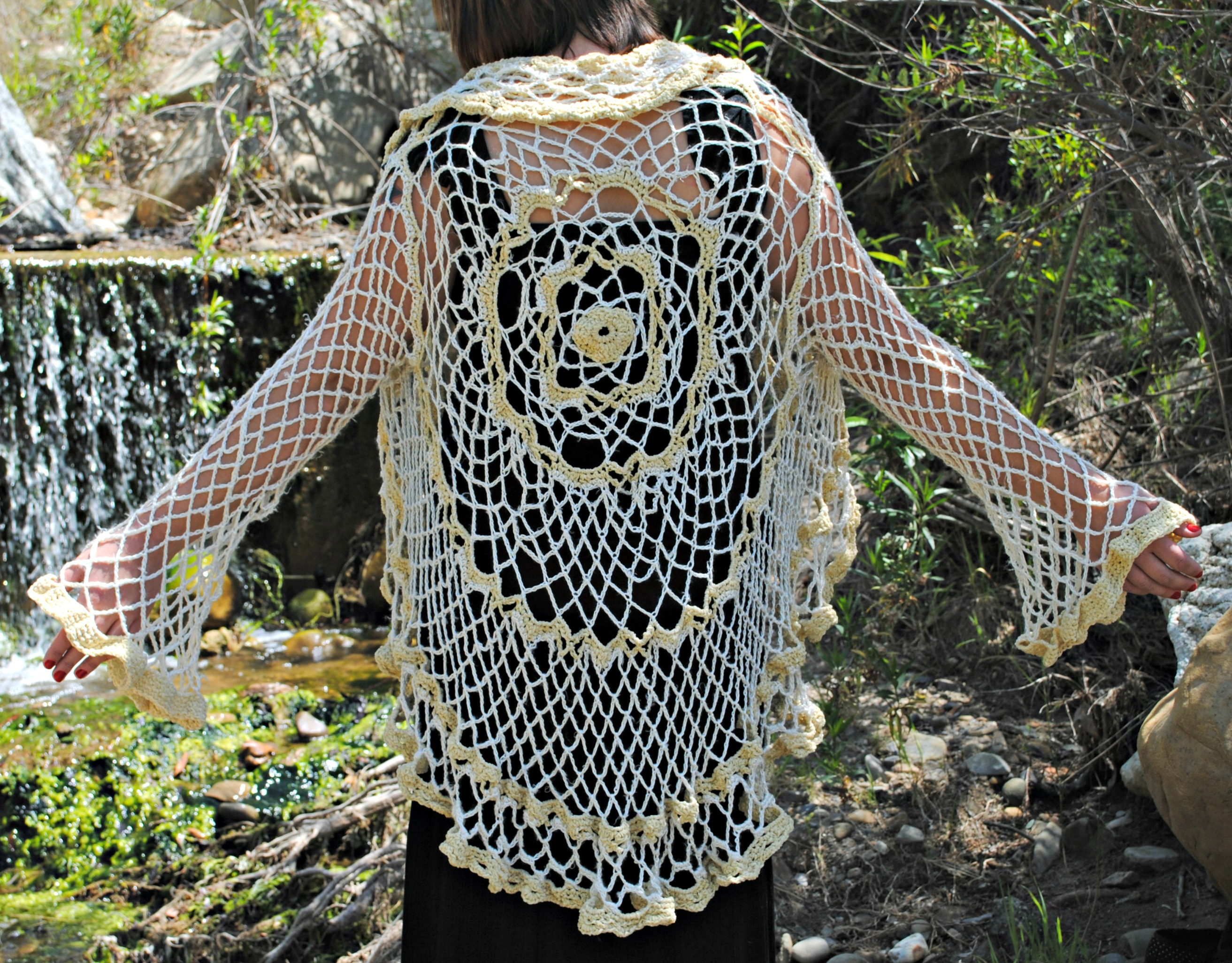 Wearables gypsy spirit threadworks crocheted circle cardigan bankloansurffo Image collections