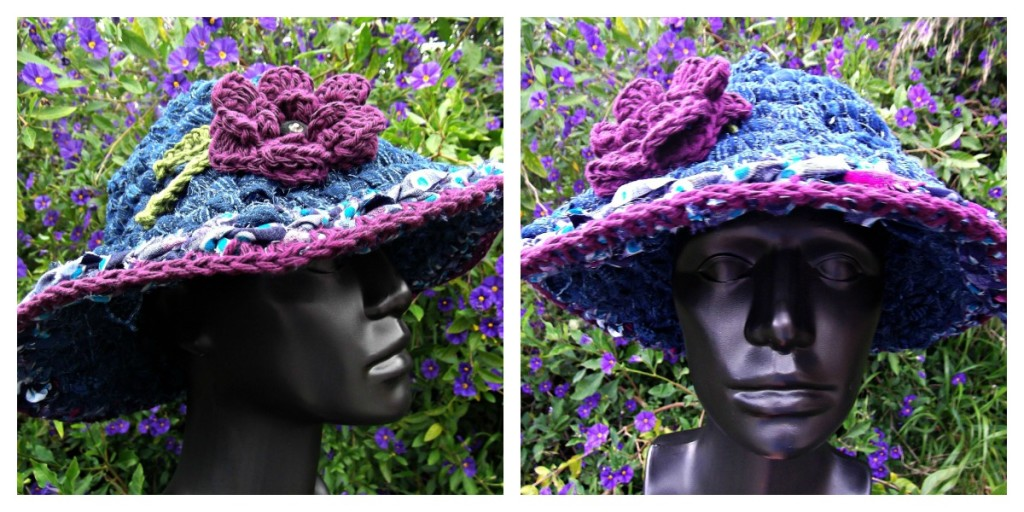 Crocheted Rag Hat