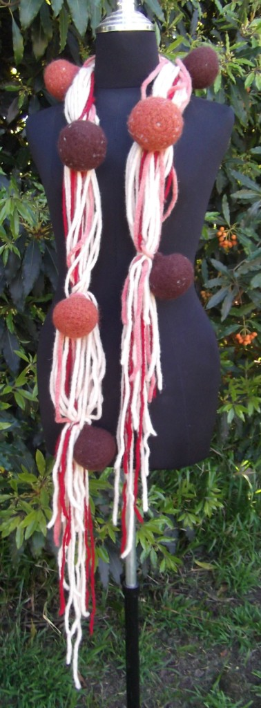 Spaghetti and Meatballs Scarf