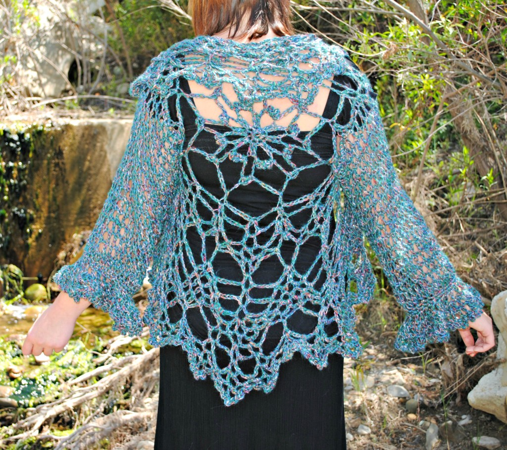 Weaving The Web Crocheted Cardigan