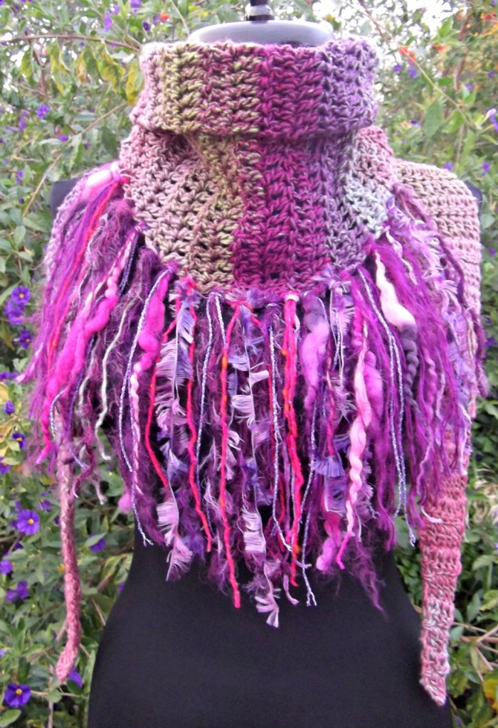 Wild Child Crocheted Scarf