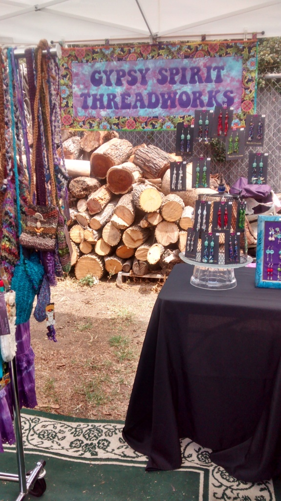 Booth at ArtWalk 2014